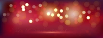 A luxury red bokeh image for Abstract background. Luxury red bokeh image for Abstract background vector illustration