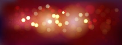 A luxury red bokeh image for Abstract background. Luxury red bokeh image for Abstract background royalty free illustration