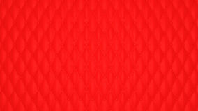 Luxury Red buttoned leather pattern Stock Photo