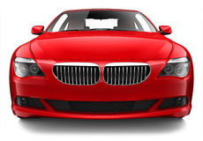 Luxury red coupe Royalty Free Stock Images