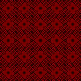 Luxury red floral wallpaper Stock Photo