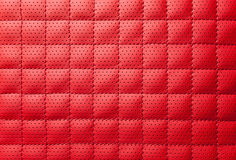 Luxury red leather texture Royalty Free Stock Photos