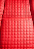 Luxury red leather texture Stock Image