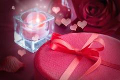 Luxury  red present Stock Photo