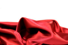Luxury red satin Royalty Free Stock Photos