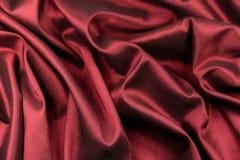 Luxury red satin Stock Photo