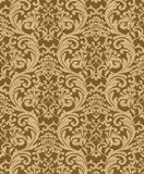 Luxury renaissance background. Brown color Royalty Free Stock Photos