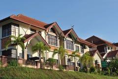 Luxury residence area Stock Photo