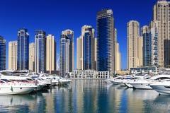 Luxury residential block win Dubai Stock Photography