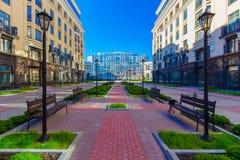 Luxury residential buildings Stock Photo