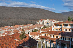 Luxury residential complex Negresko in Elenite, Bulgaria. Stock Photos