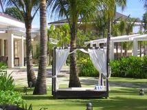 Luxury Resort. Garden of the Luxury Resort in Philippines Stock Images