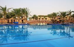 Luxury resort. In Sharm el Sheikh - Egypt Royalty Free Stock Photo