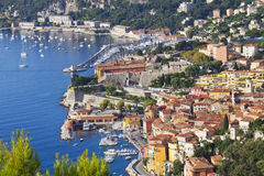 Luxury Resort And Bay, Nice, France Stock Photography