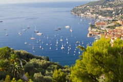 Luxury resort and bay, Nice, France Stock Photos