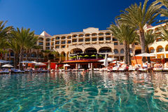 Luxury Resort in Cabo San Lucas, Mexico Royalty Free Stock Photography