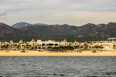 Luxury resort in Cabo San Lucas, Mexico, Baja California.  royalty free stock images