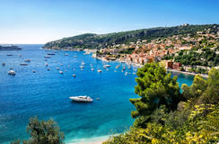 Luxury resort of Cote d'Azur. Nice, France, French Riviera Royalty Free Stock Images