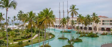 Luxury Resort in Dominican Republic Royalty Free Stock Image