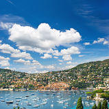 Luxury resort. French riviera, Mediterranean Sea Royalty Free Stock Photography