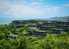 Luxury resort on the hill in Phuket, Thailand Stock Photos