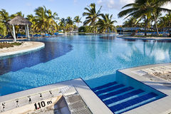 Luxury Resort Hotel Swimming Pool Stock Image