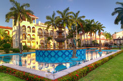 Luxury resort in Mexico Stock Photo