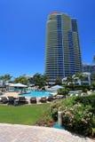 Luxury resort pool Royalty Free Stock Images