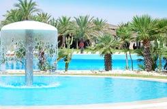 Luxury Resort Pool Stock Image