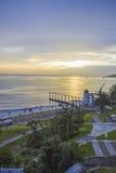 Luxury resort Sunrise Royalty Free Stock Images