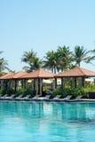 Luxury Resort Swimming Pool Royalty Free Stock Images