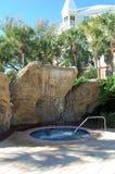 Luxury Resort Whirlpool Royalty Free Stock Photography
