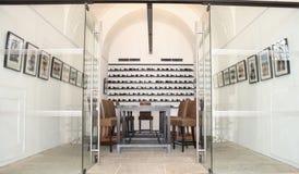 luxury restaurant Arkivbild