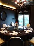 Luxury restaurant Stock Images