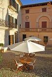 Luxury Restaurant. Typical courtyard of a luxury restaurant in Majorca (Balearic Islands - Spain Stock Photos