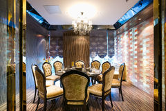 Luxury restaurant Royalty Free Stock Images
