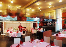 Luxury restaurant Royalty Free Stock Photo