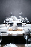 Luxury restaurant in european style Royalty Free Stock Photography