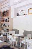 Luxury restaurant in european style Stock Photo