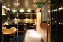 Luxury restaurant in european style Royalty Free Stock Image
