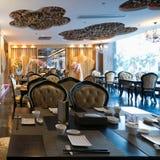 Luxury restaurant interior Royalty Free Stock Image