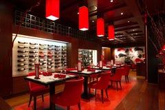 Luxury restaurant Stock Photography