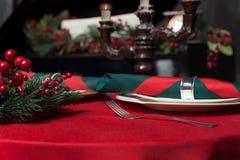 Luxury restaurant interior, rich tableware closeup Royalty Free Stock Photo