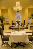 Luxury restaurant interiors Royalty Free Stock Photos