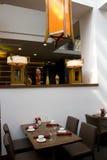 Luxury restaurant interiors Stock Photography