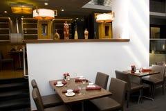 Luxury restaurant interiors Royalty Free Stock Images