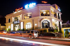 Luxury restaurant. Luxurious restaurant in tehran Royalty Free Stock Photography