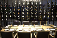 Luxury restaurant private room in a hotel Stock Photo