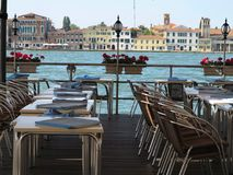 Free Luxury Restaurant With View To Grand Royalty Free Stock Photos - 108882858
