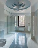 Luxury restroom interior Stock Photos